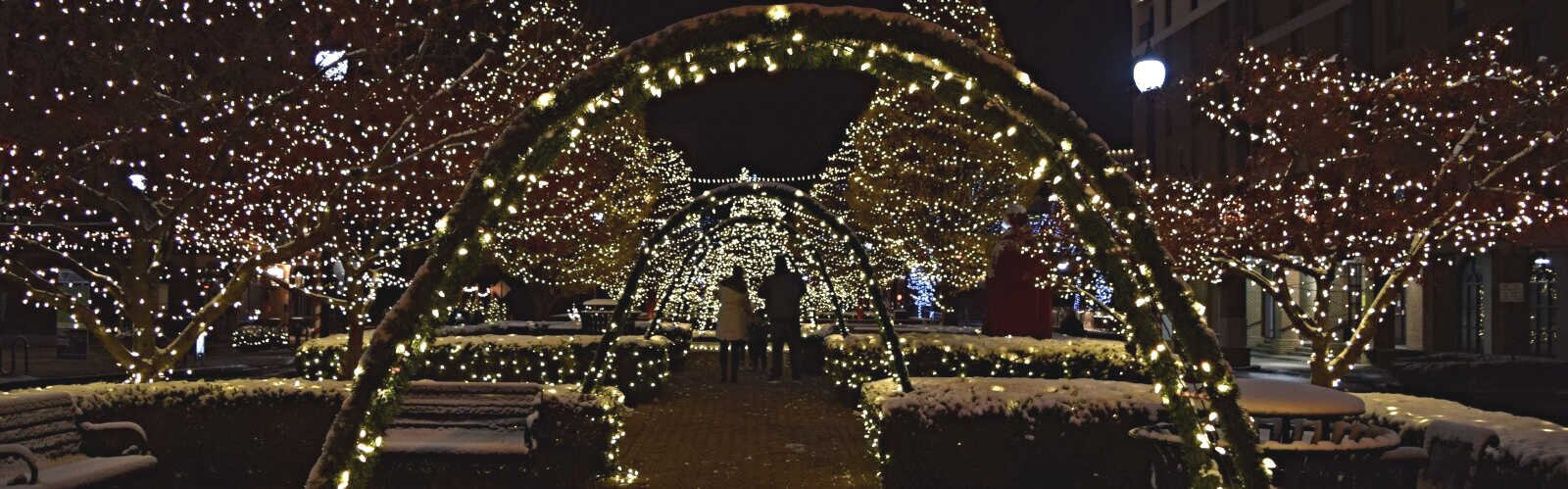 Downtown Springfield is lit up in a whole new way this year, creating an experience to attract people to the area this winter.