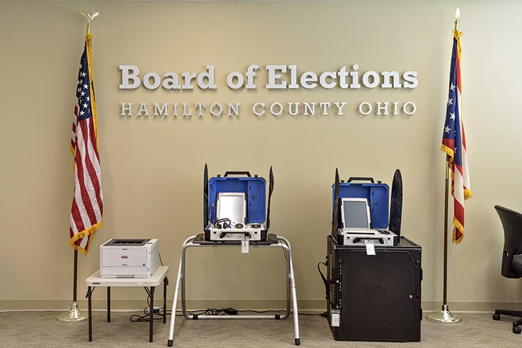 Ohioans can vote early either in person or through mail-in ballots.