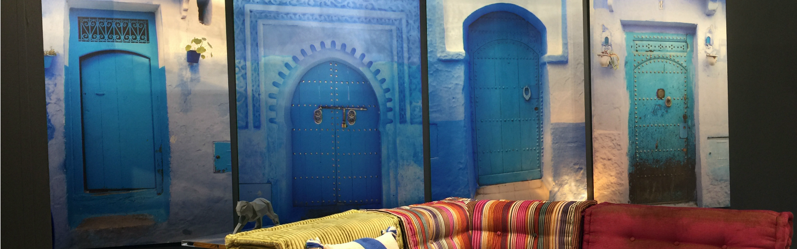 Vicki Rulli is turning people's memories into prints, like these Moroccan Doors.