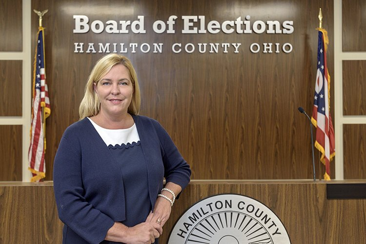 Sherry Poland, director of elections in Hamilton County.
