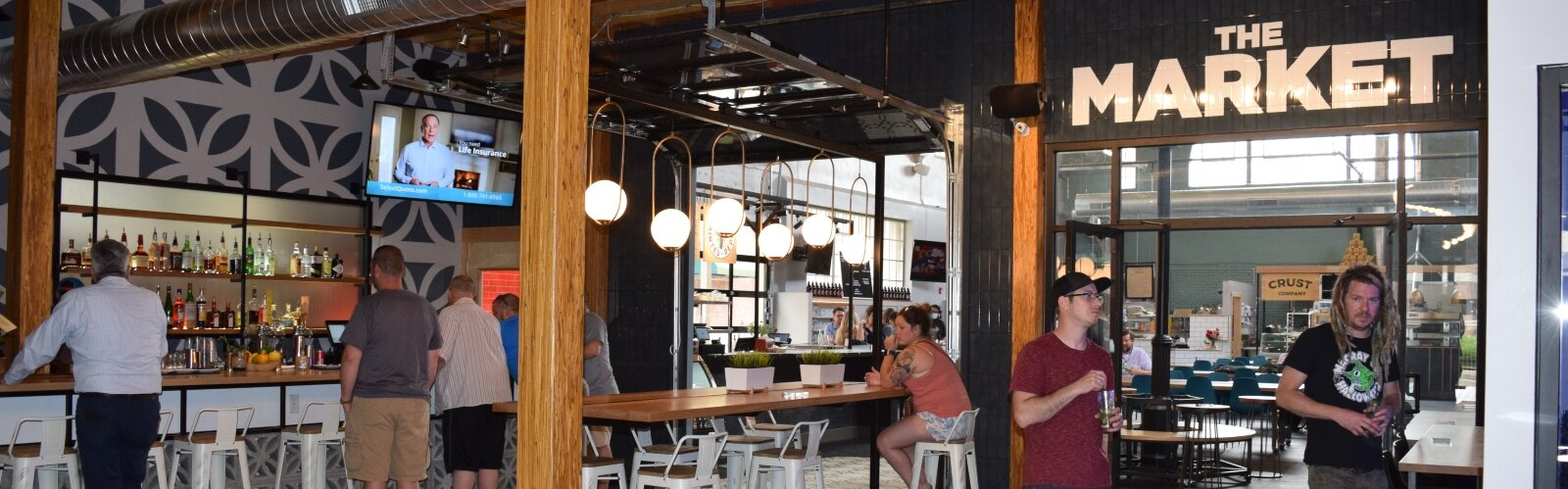 The Market Bar is one of the many new local spots open within COhatch The Market.