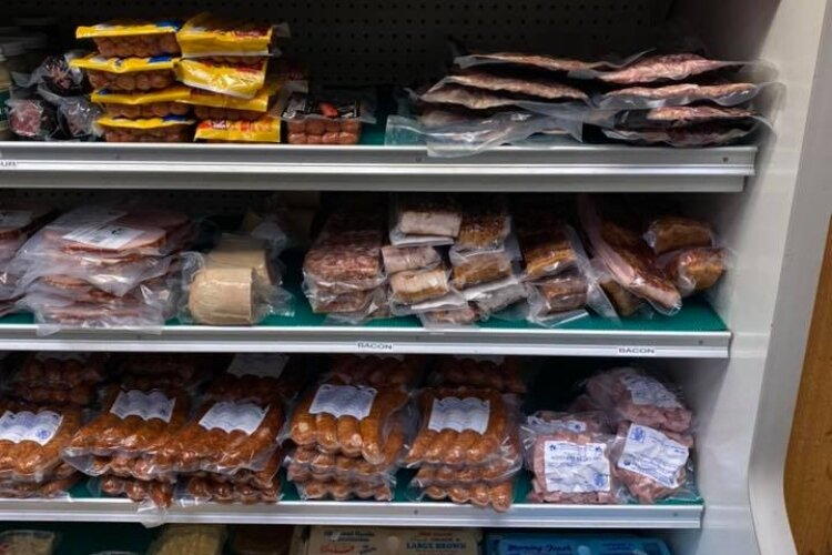 Copey's Butcher Shop in Medway has kept a steady variety of locally raised and processed meat products available for sale throughout the coronavirus pandemic.