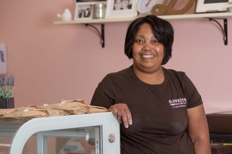 Donyale Hill is a lifelong Springfield resident who owns D.Sweets, Cookies & Gifts, located at 1605 E. Main St.