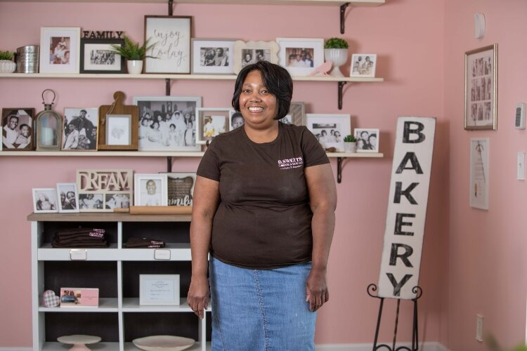 Donyale Hill, owner of D.Sweets, Cookies & Gifts, has spent almost two decades selling her baked goods, including the last two years at her East Main Street storefront.