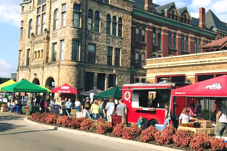 The 14th annual summer Springfield Farmers Market will kick off June 13, but vendors and patrons will be a more spread out this year to meet COVID-19 regulations.