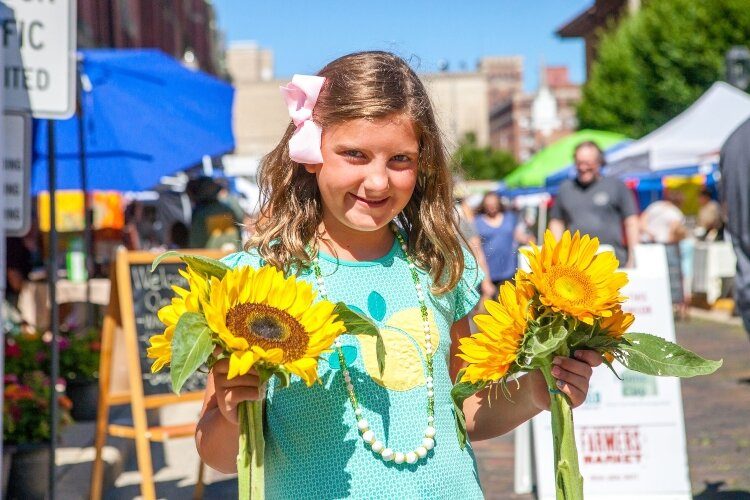 The Springfield Farmers Market will kick off this month and feature many familiar vendors of local vegetables, baked goods, flowers and more.