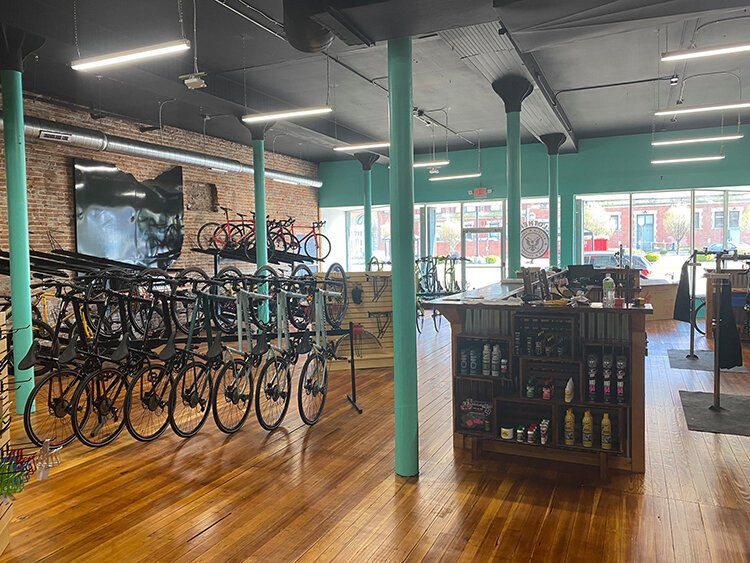 The owners of Cyclotherapy say the bike shop not only sells bicycles but also can help build community through cycling.