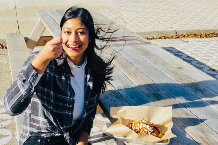 Springfield's Lena Syed is a TikTok content creator who featured Ironworks Waffle Cafe in one of her recent videos.