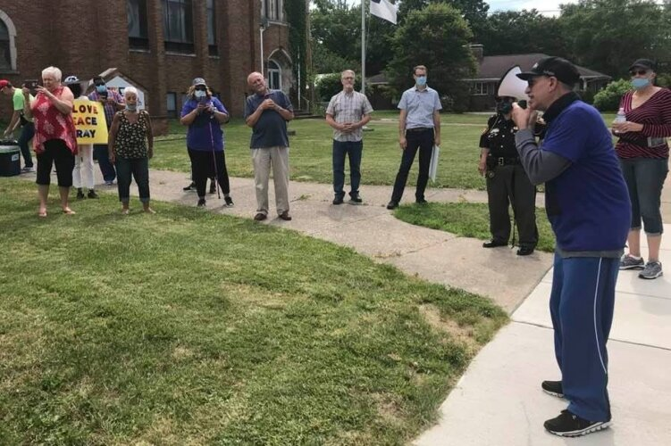 Local clergy organized a peace march across Springfield in mid-June. Some of the clergy and law enforcement leaders who attended are also part of the Law Enforcement Advisory teams.