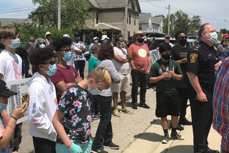 In mid-June, local clergy from across Springfield worked together in organizing a march through the city to encourage peace and inclusion, with stops at various churches to add supporters along the way.