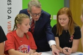 Last November, Governor DeWine visited PreventionFIRST! to learn about youth-based substance-abuse prevention programs.