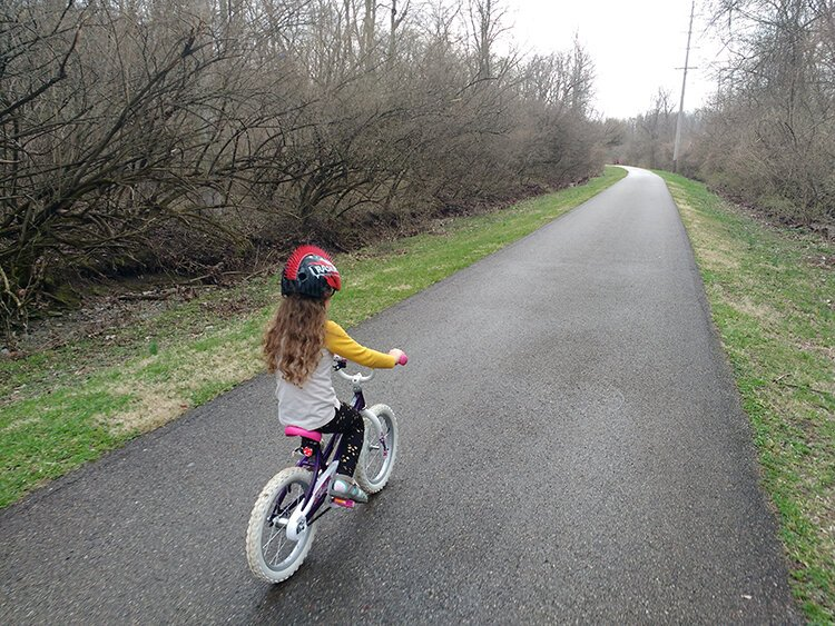 The Simon Kenton Trail is one of the paths in the vast regional trail network.