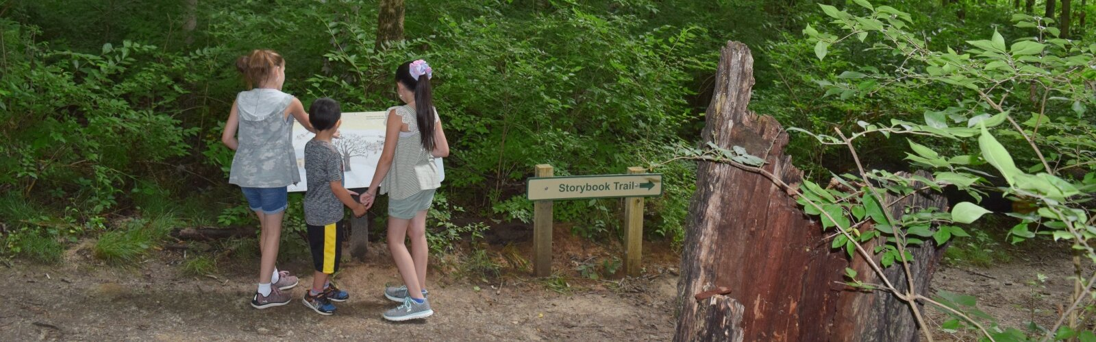Exploring the new Storybook Trail at John Bryan State Park in Yellow Springs can be a fun experience for families.