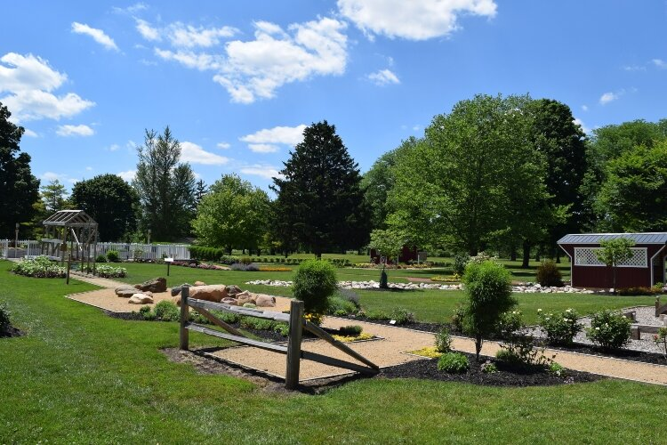The Springfield Kiwanis Children's Garden in Synder Park is one of the many places families can enjoy outdoors this summer.