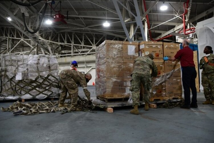 The U.S. Air Force uses the cargo nets made by TAC Industries to ship supplies all over the globe.