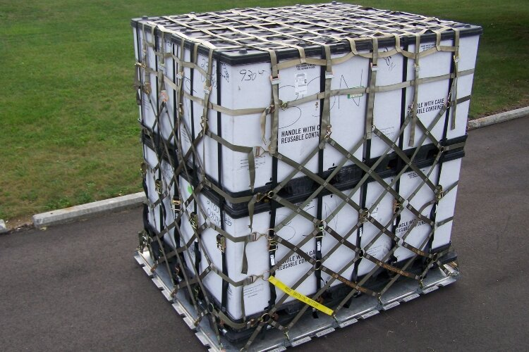 The cargo nets made by TAC industries employees secure items the U.S. Air Force transports.