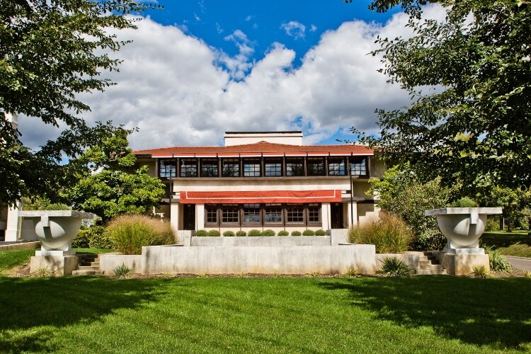 An architectural gem: Frank Lloyd Wright's Westcott House in Springfield, Ohio